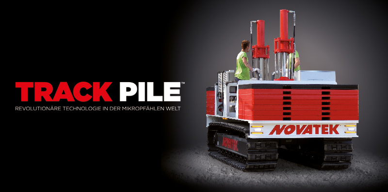 Top Track Pile: Mikropfählen zur Pfahlgründung - Novatek DE &PC_28
